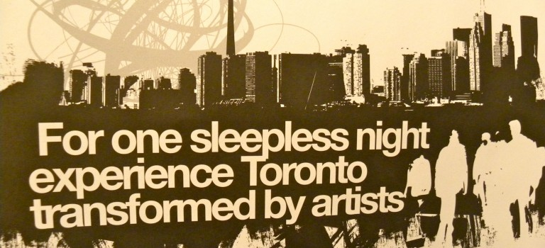 IPEye #TwitterSessions: Nuit Blanche Toronto 2014